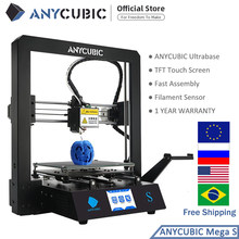 ANYCUBIC Mega S stampante 3D I3 Mega Upgrade Kit stampante 3D Full Metal TFT Touch Screen stampante TPU ad alta precisione Impressora 3D