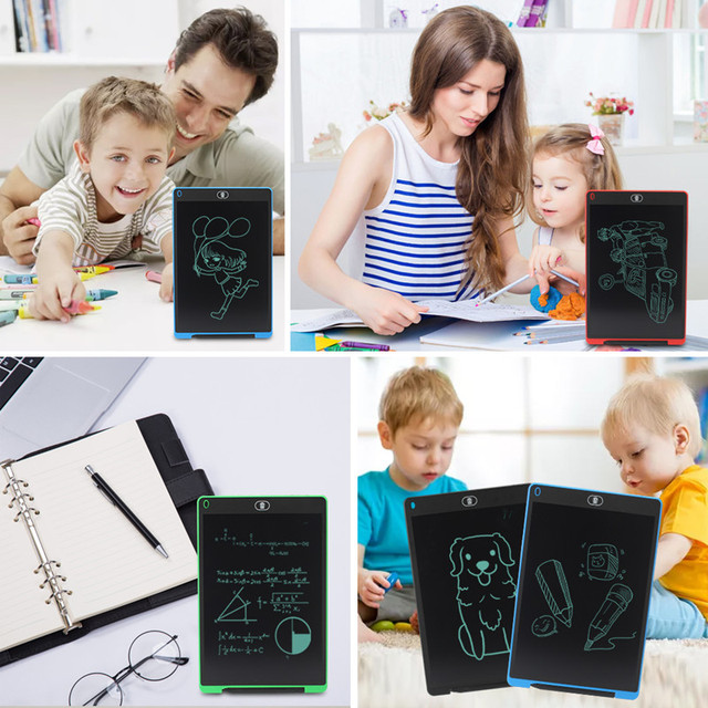 Graphics Tablet Electronics Drawing Tablet Smart Lcd Writing Tablet Erasable Drawing Board 8.5 12 Inch light Pad Handwriting Pen 3