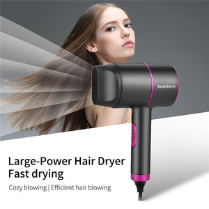 Image 5 - CkeyiN Professional Salon Anion Hair Dryer Hot Air Brush Hair Dryers Negative Ionic Blow Temperature Control Strong Wind Dryer