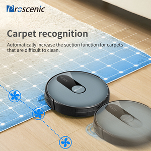 Image 4 - Proscenic 820P 1800Pa Robot Vacuum Cleaner 3in1 Planned Route Washing Smart Robot with Wet Cleaning Carpet Cleaner for Home APP