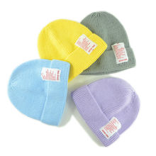 Winter baby knitted hat Infant girls Cute Candy color caps Knitted Warm beanie Baby boy knit winter H222S