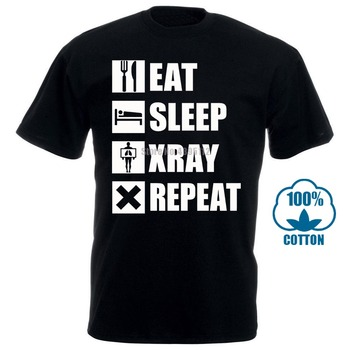 Eat Sleep Xray Shirt Funny Rt Radiology X Ray Tech T Shirt Sleeve Tops T Shirt Homme Top Tee New Fashion Men'S T Shirt 015560