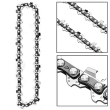 4 Inch 1/4inch Mini Steel Chainsaw Chain Electric Electric Saw Accessory