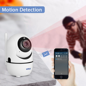 Image 3 - KERUI HD 1080P كاميرا داخلية صغيرة لاسلكية أمن الوطن واي فاي كاميرا IP كاميرا مراقبة للرؤية الليلية كاميرا تلفزيونات الدوائر المغلقة