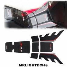 MKLIGHTECH Motorcycle 3D Carbon Fiber Sticker Tank Pad Protector For HONDA XADV 750 X-ADV xadv750 2017-2019