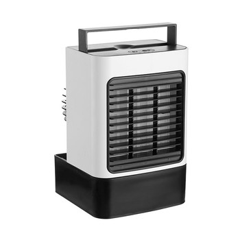 Spot Portable Air Conditioner Personal Air Cooler Fan Mini Evaporative Cooler Desk Table Fan Quiet Air Circulator Humidifier evaporative air conditioner air cooler fan indoor portable cool humidifier battery operated with quiet 2 speed air cooling fan