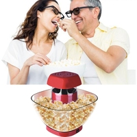 Popcorn Maker Household Mini Automatic Popcorn Machine DIY Corn Machine for Popcorn Kitchen Tools EU Plug