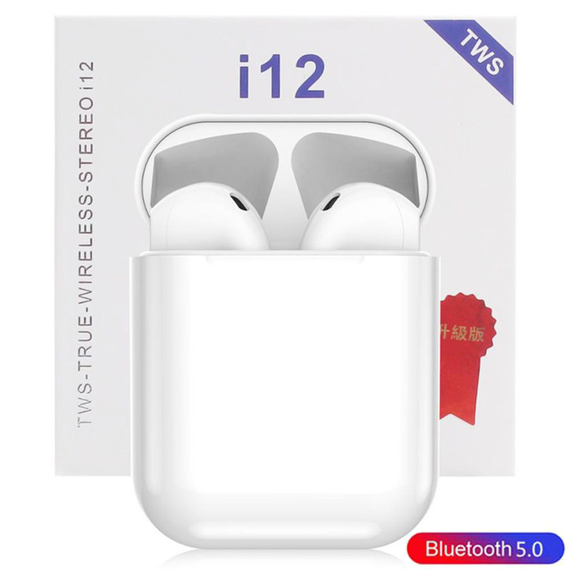 Image 5 - i12 Tws Touch Control Earbuds Wireless Bluetooth 5.0 Mini Earphones 3D Super Bass Earphone With MIC Charging Box Factory Price-in Bluetooth Earphones & Headphones from Consumer Electronics