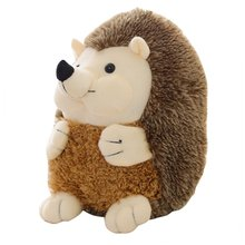 OCDAY Cute Soft Hedgehog Animal Doll Stuffed Plush Toy Simulation Kids Home Wedding Party Toys Appease 15cm Hot