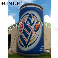 Nice shape giant inflatable beer bottle custom commercial inflatable beer cans model for advertising