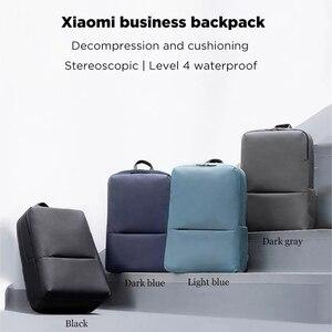Image 5 - 원래 Xiaomi 클래식 비즈니스 배낭 2 세대 15.6 인치 학생 노트북 어깨 가방 남여 야외 여행