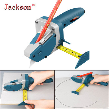 All-in-one Hand Tool with Measuring Tape, Gypsum Board Cutting Device Drywall Artifact