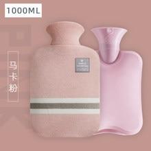 Bolso con Petaca para el invierno, cubrebotellas de agua caliente Kawaii, Calienta bonita, artículos para el hogar, BW50RS