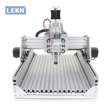 LEKN(C1) 3020 CNC Router Machine Kit,Laser Engraver,DIY GRBL Engraving Machine for Wood PCB Metal,Openbuilds OX