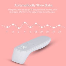Medical household contactless, forehead digital infrared human thermometer, neonatal adult electronic thermometer gun ear gun