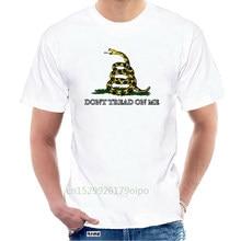 Funny t shirt men novelty women tshirt Gadsen Flag T-Shirt (Don't Tread on Me) @072235