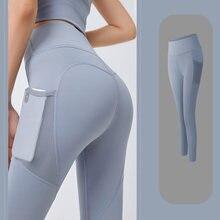 Фитнес 1 шт Полиэстер Йога штаны Панталоны тонкого покроя для