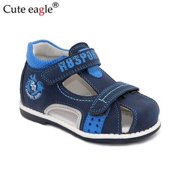 цена Sandals for toddler boys New summer Children brand open toe Sewing thread Sandals Boys or Girls Leather Sandals Melissa Shoes онлайн в 2017 году