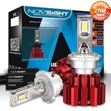 NOVSIGHT D1 D2 D3 D4 S/R רכב Led אורות 80 ~ 86W 13600lm/סט פנסי מכונית נורות מגניב לבן 6000K D1 Led ערפל אור מנורות