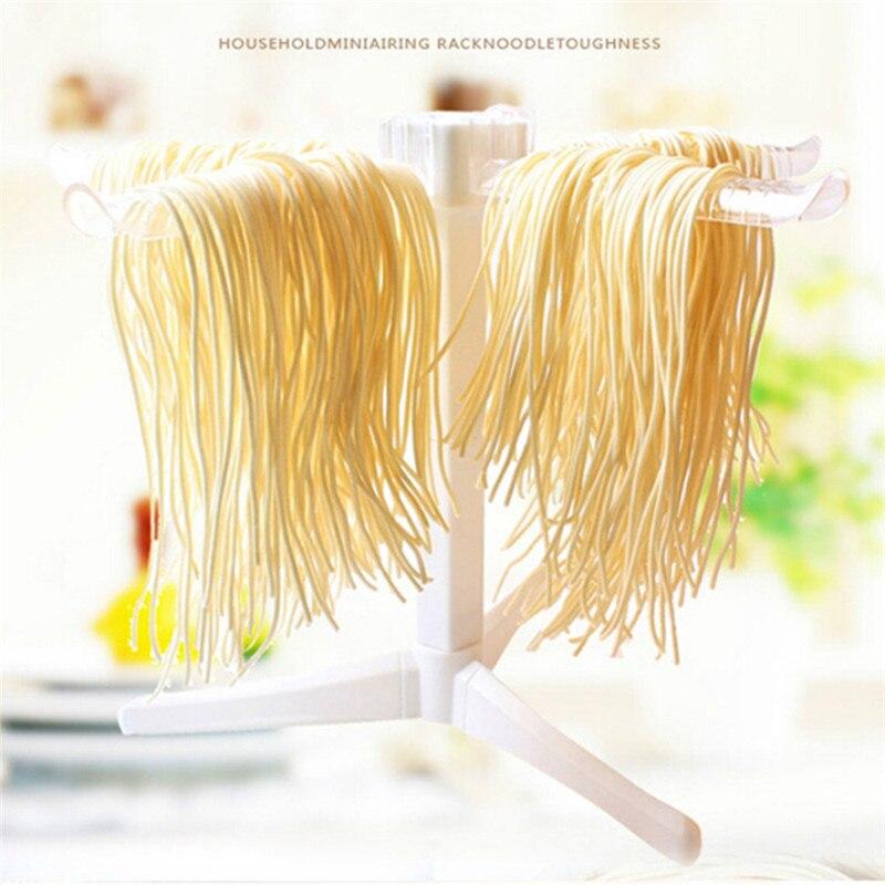 Складная феттуцина лапша сушка спагетти паста сушилка ручной лапши делая машину висячая подставка держатель кухонных инструментов