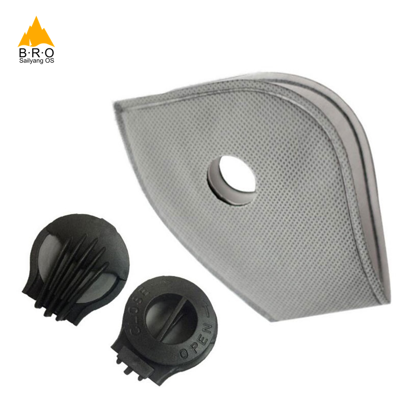 5 Layers PM2.5 Activated Carbon Air Cleaner Dust Pollution Mask Filter For Cycling Bike Bicycle Mask Outdoor Anti-Dust KN95 N95