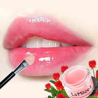 Lip Mask For Lip Plumper Moisture Essence Plant Flower Extract Exfoliating Anti-Ageing Scrub lip film 20g
