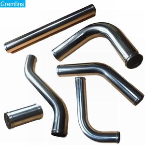 Image 1 - Universal de 2,5 tubo de aluminio de pulgadas/51/57/63/76mm Tubo de entrada para las carreras Intercooler del coche de aire 0/45/90/180 grados L tipo S