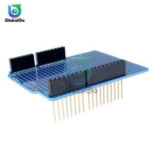 Prototype PCB Board For Arduino UNO R3 ATMEGA328P Shield Board Breadboard FR-4 2.54mm 2mm Pitch 5pin 10Pin Female Connector(China)