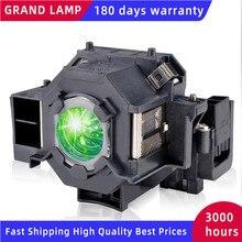 Alta Luminosità della lampada Del Proiettore Con Alloggiamento V13H010L42 ELPLP42 per Epson EMP 822 EMP 822H EMP 83 EMP 83C EMP 83H EMP 83HE