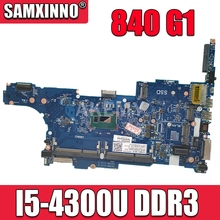 Placa base para portátil HP Elitebook 840 G1 Core SR1ED I5-4300U placa base 730803-001 6050A2560201-MB-A03 tesed DDR3
