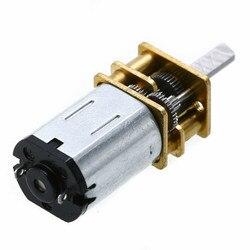 3 вида стилей высокое качество DC 3V/6V/12V N20 мини микро-металлическая передача мотора с колеса DC моторы 15/30/50/60/100/200/300/500/1000 об/мин