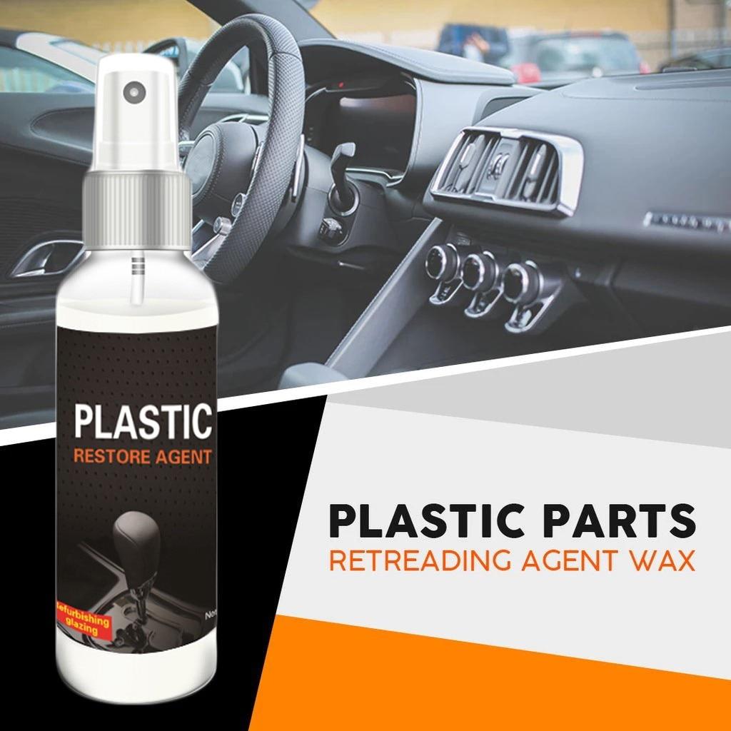 PLASTIC RESTORE 100ml Plastic Retreading Agent Automotive Interior Auto Plastic Renovated Coating Paste Maintenance Agent