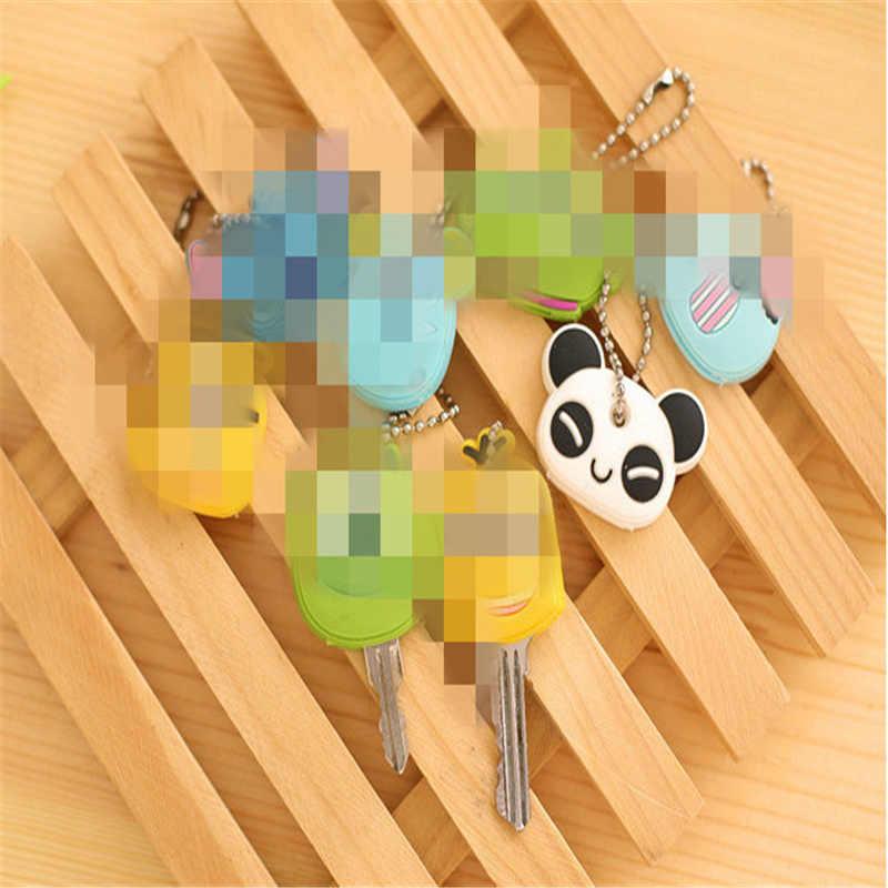 1 sztuka losowo-4CM gumowy klucz kopertówka; Klucz portfel etui portfel etui