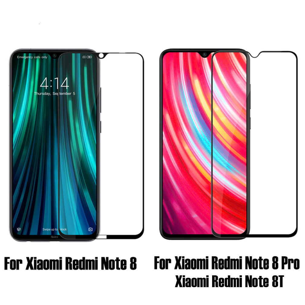 Nillkin Full Cover Glass For XiaoMi Redmi Note 8 pro 2.5D CP+Pro Tempered Glass For Redmi Note 8T Note8 Screen Protection film 2