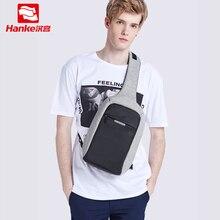 Maxi Anti Theft Crossbody çanta erkekler Sling göğüs çanta Fit 9.7 inç iPad askılı çanta spor seyahat küçük bir omuz