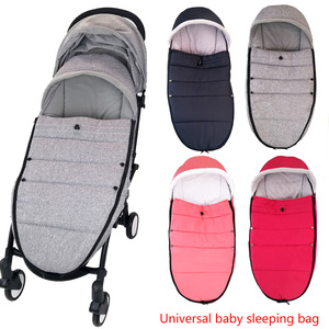 Image 2 - Universal Baby Stroller Sleep Bag Windproof Winter Socks For Yoya Yoyo Stroller Warm Footmuff Cover Baby Stroller Accessories