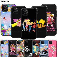 YIMAOC Hey Arnold suave de silicona caso para iPhone 11 Pro XS Max XR 8X8 7 6 6S Plus 5 5S SE(China)