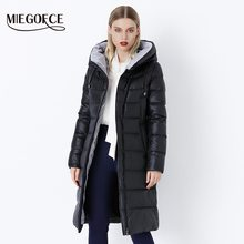 MIEGOFCE 2020 Coat Jacket Winter Women's Hooded Warm Parkas Bio Fluff Parka Coat Hight Quality Female New Winter Collection Hot