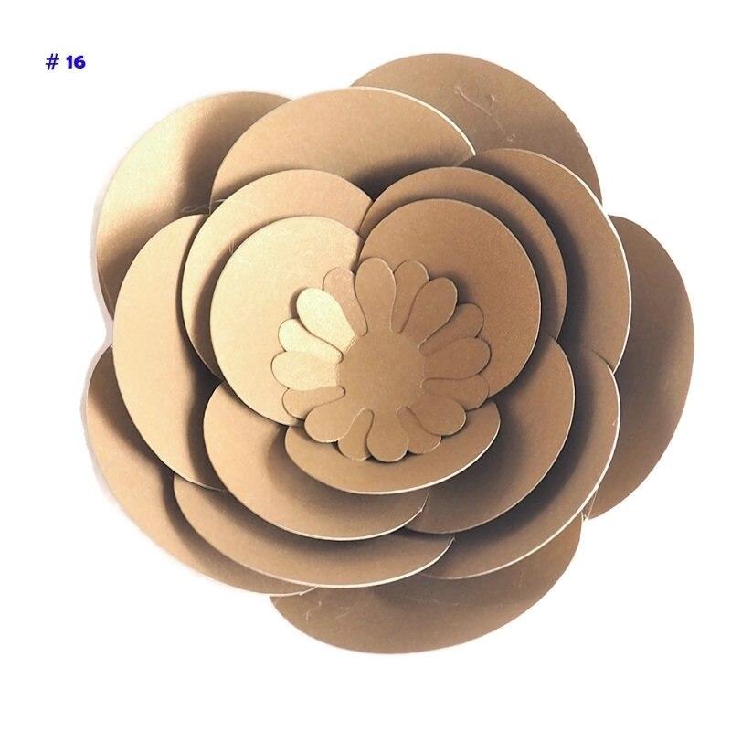 Поделки из бумаги искусственные цветы, Роза 10 см, для рукоделия, домашнего декора, украшения стен, венок из виноградных листьев подвесных цв...