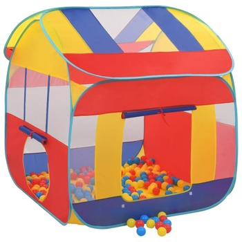 123x120x126cm VidaXL Play Tent With 300 Ocean Balls XXL 91796 Funny Children Tent Play House Babysitter For Kids Over 3 Years