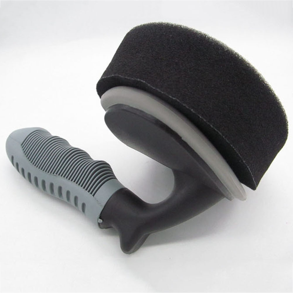 Wheel And Tire Coating Sponge Brush Car Motorcycle Vehicle Wheel Tire Brush Waxing Sponge Removable Cleaning Hand Tools