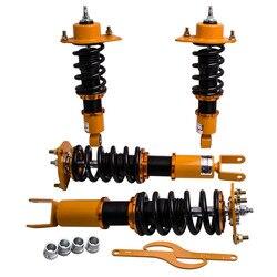 4 sztuk kompletny zestaw zawieszenia Coilovers dla Mazda RX-8 2004-2011 regulowane amortyzatory amortyzatora