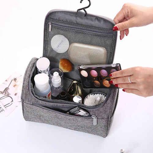 Neue Mode Frauen Damen Professionelle Große Kosmetische Fall Make-Up Tasche Lagerung Griff Organizer Reise Kit
