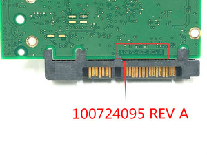Image 4 - 1 قطعة الأصلي التوصيل المجاني 100% اختبار HDD لوحة دارات مطبوعة ST2000DX001 ST2000DM001 100724095 REV A