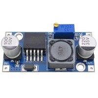 DC-DC step down buck conversor módulo lm2596 3.2 v-40 v a 1.25 v-35 v regulador de tensão de potência ajustável transformador step-down 100 p