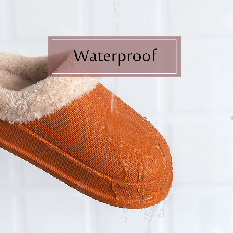 New Fashion 2019 Woman House Slippers EVA Warm Fur Slippers Plush Home Slipper Indoor Floor Shoes for Female Winter Slippers 2