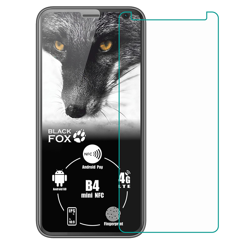 Tempered Glass For Black Fox B4 mini NFC BMM541B BMM 541B GLASS Protective Film Explosion-proof Screen Protector Phone cover