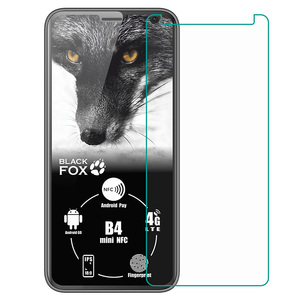 Tempered Glass For Black Fox B4 mini NFC BMM541B BMM 541B GLASS Protective Film Explosion-proof Screen Protector Phone cover(China)