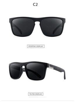 2021 Polarized Sunglasses Men's Driving Shades Male Sun Glasses For Men Retro Cheap Luxury Women Brand Designer UV400 Gafas - C2