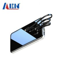 Banco de energia móvel 50000mah tela cheia 3usb portátil emergência ao ar livre carregamento rápido bateria externa para samsung xiaomi iphone